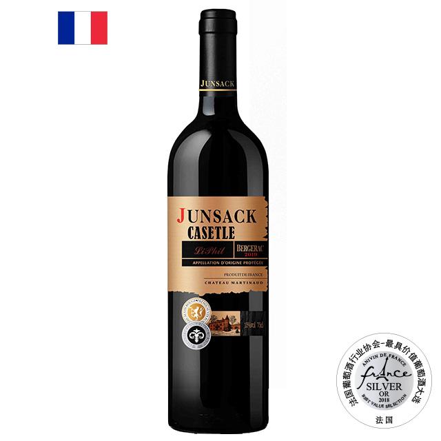君萨克古堡黎菲尔干红葡萄酒